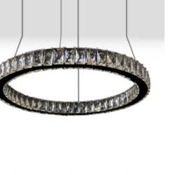 PENDENTE BRUXELAS LED/CRISTAL 36W CH2047-1