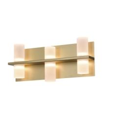 ARANDELA CLAIR  SAND GOLD FOSCO LED BELLA JJ012